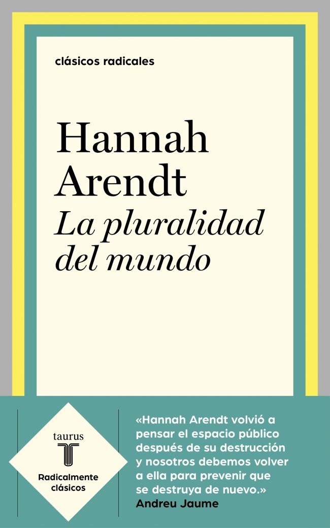 pluralidad del mundo arendt pdf