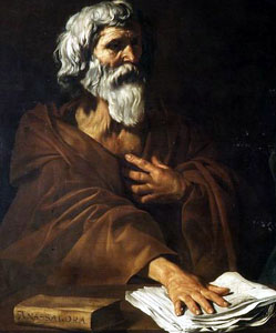 anaxagoras retrato